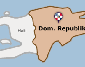 Dominikanische-Republik-Karte