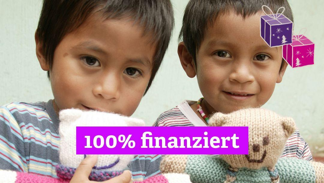 Weihnachtsgeschenke für Waisenkinder - Ihre Spende wird verdoppelt!